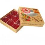 Мармелад желейные со вкусом брусники (300 гр.)