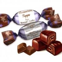 Волшебник Тоффи шоколад-сливки (1 кг.)
