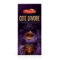 Горький 60% какао 'Кот-Д-Ивуар' (100 гр.)