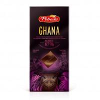 Горький 67% какао 'Гана' (100 гр.)