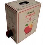 Натуральный яблочный сок прямого отжима (3 л,короб)