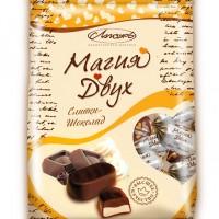 Магия двух сливки-шоколад (240 гр.)