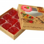 Мармелад желейные со вкусом малины (300гр.)