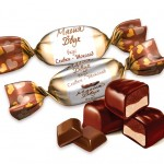 Магия двух сливки-шоколад (1 кг.)