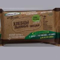 Хлебцы хрустящие «Льняные овощные» с травами огородными (50 гр.)
